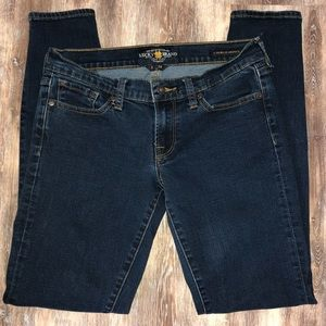 Lucky Brand Charlie Skinny Jeans Size 2/26